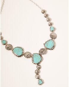 Idyllwind Women's Our Little Secret Drop Necklace, Silver, hi-res