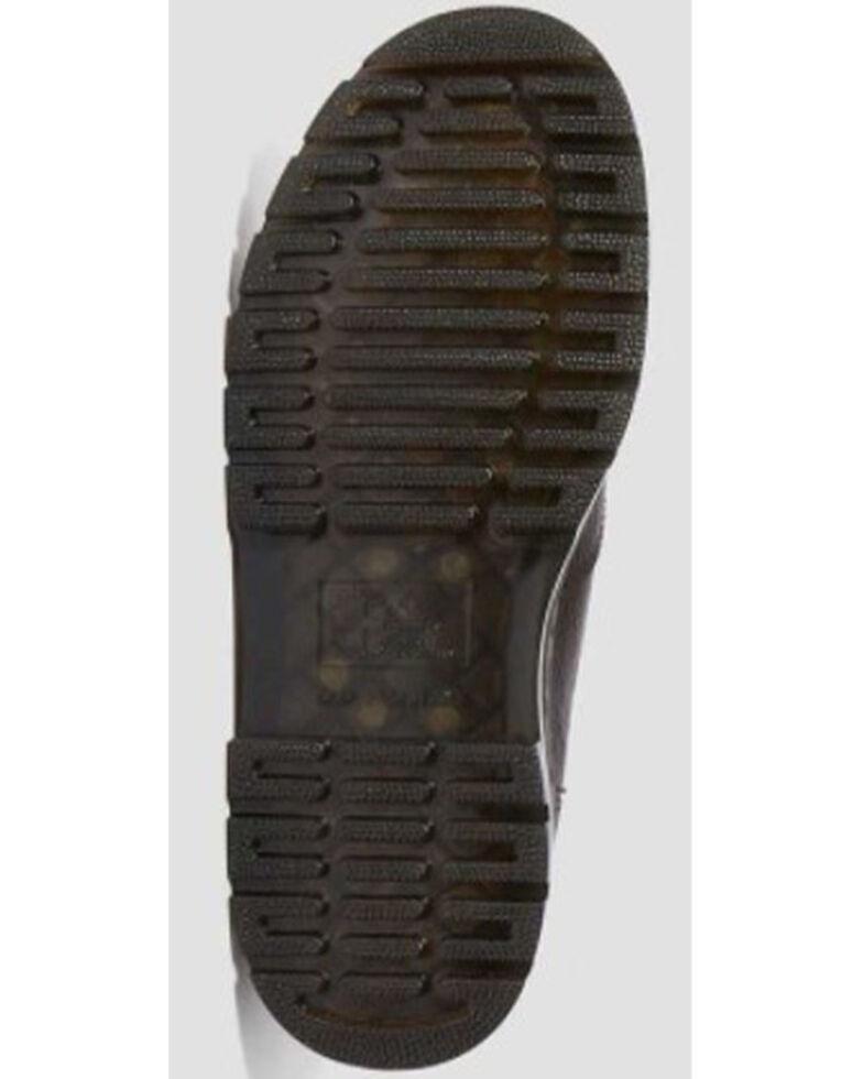 Dr. Martens Men's Brown Hardie Bear Track Chelsea Work Boots - Soft Toe, Dark Brown, hi-res