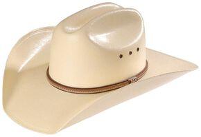 Justin 10X La Grange Straw Cowboy Hat, Natural, hi-res