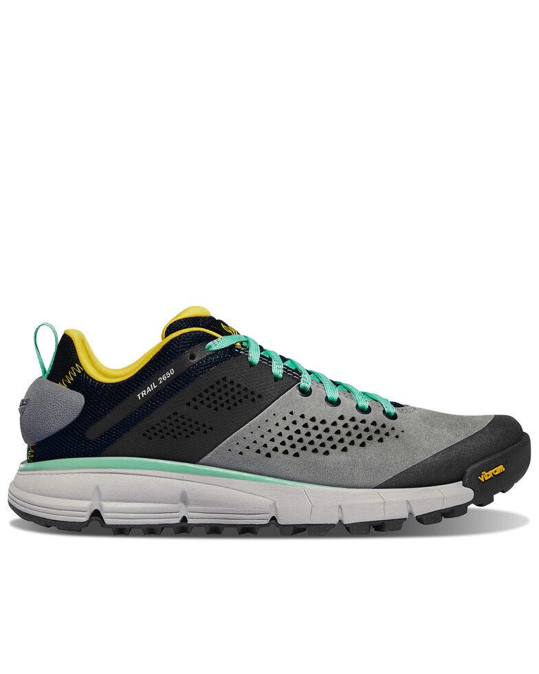 Danner Women's Trail 2650 Hiking Shoes - Soft Toe, Grey, hi-res