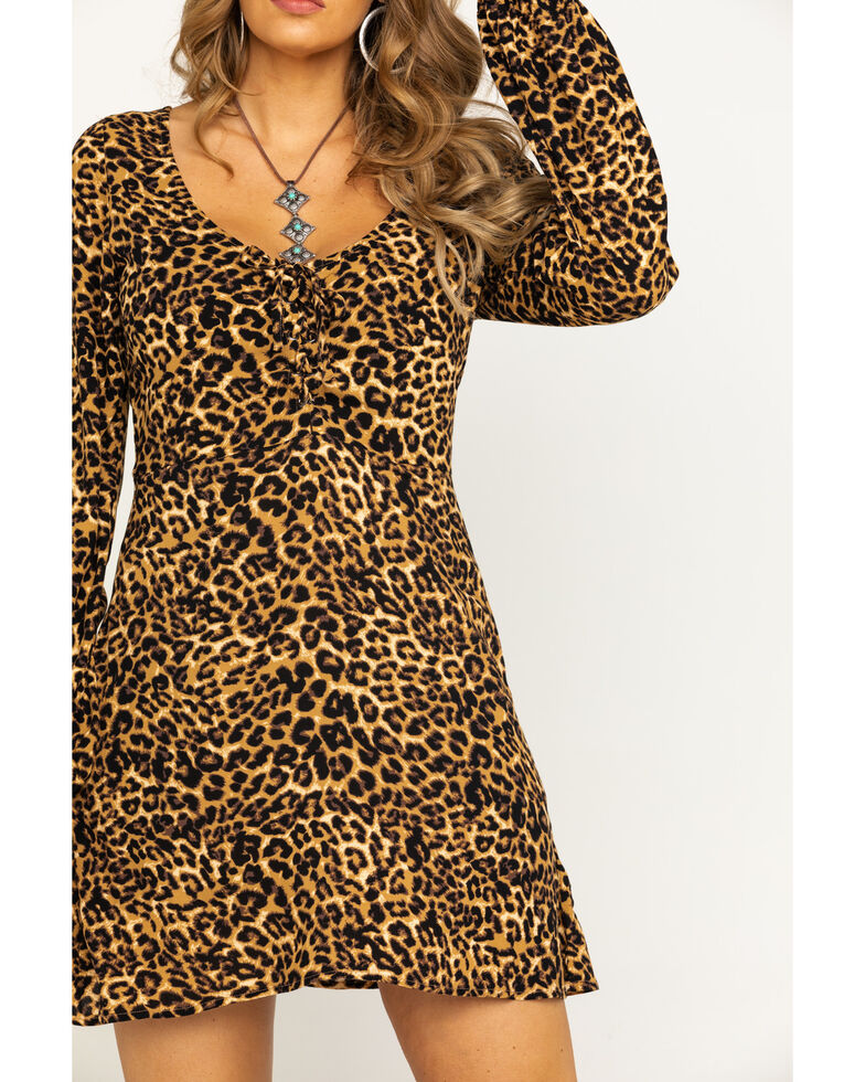 Idyllwind Women's Wild Side Dress, Leopard, hi-res