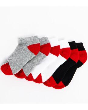 Cody James Boys' 3-Pack No-Show Socks, Multi, hi-res