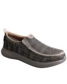 Twisted X Men's EVA12R Slip-On Shoes - Moc Toe, Brown, hi-res
