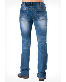 Cowgirl Tuff Women's Tuff Barbed Wire Jeans, Blue, hi-res