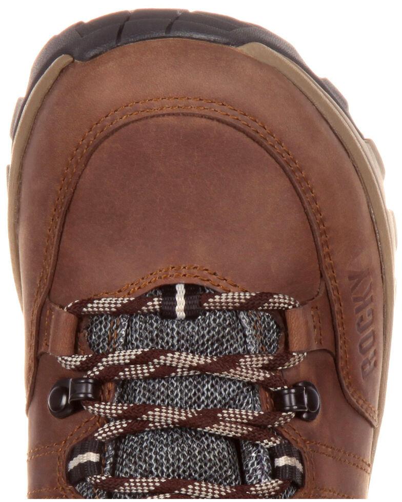Rocky Women's Endeavor Point Waterproof Outdoor Shoes - Round Toe, Brown, hi-res