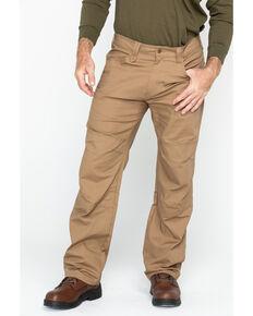Hawx® Men's Brown Stretch Ripstop Utility Work Pants - Big , Brown, hi-res