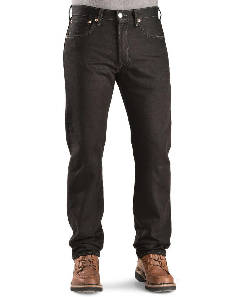 Levi's Men's 501 Original Prewashed Regular Straight Leg Jeans , Blk Magic, hi-res