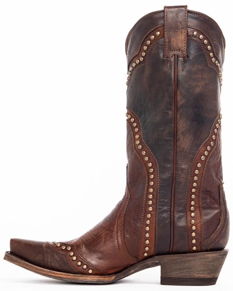 Idyllwind Women's Rebel Western Boots - Snip Toe, Brown, hi-res