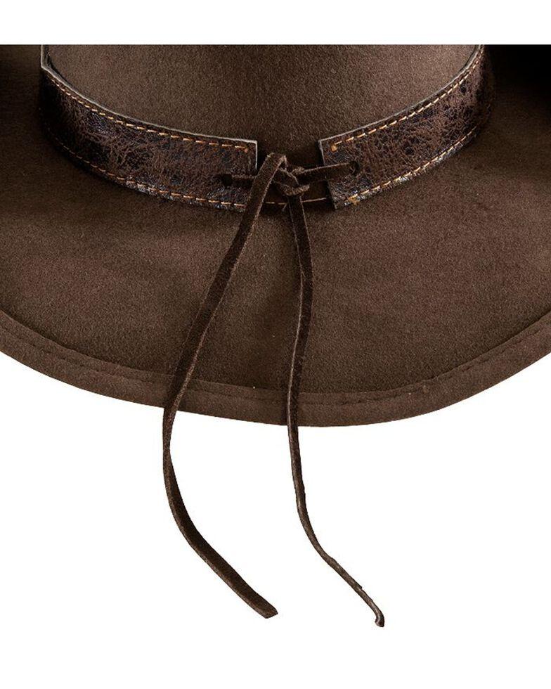 Bullhide More Than Friends Felt Cowgirl Hat, Brown, hi-res