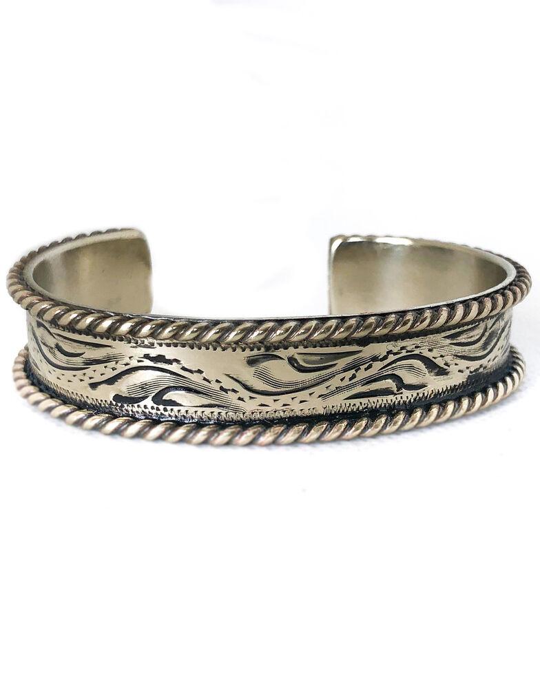 Tres Rios Women's Silver Engraved Cuff, Silver, hi-res