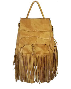 Kobler Leather Women's Tan Rucksack Backpack, Tan, hi-res
