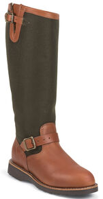 """Chippewa Women's 15"""" Snake Boots - Round Toe, Russet, hi-res"""