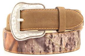 Double Barrel Camo Shotgun Shell Belt, Mossy Oak, hi-res