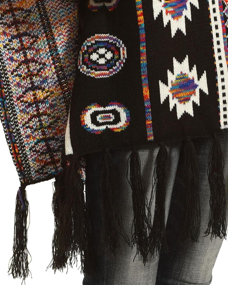 Shyanne Women's Esperanza Blanket Scarf, Blue, hi-res