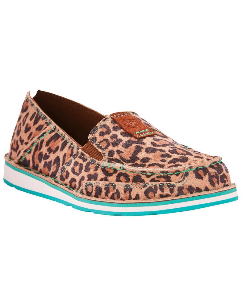 ac61a5d3c70d Ariat Women s Cheetah Print Cruiser Slip On Shoes - Moc Toe ...