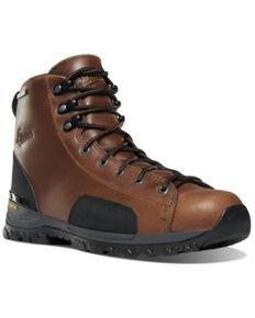 Danner Men's Stronghold Work Boots - Composite Toe, Dark Brown, hi-res