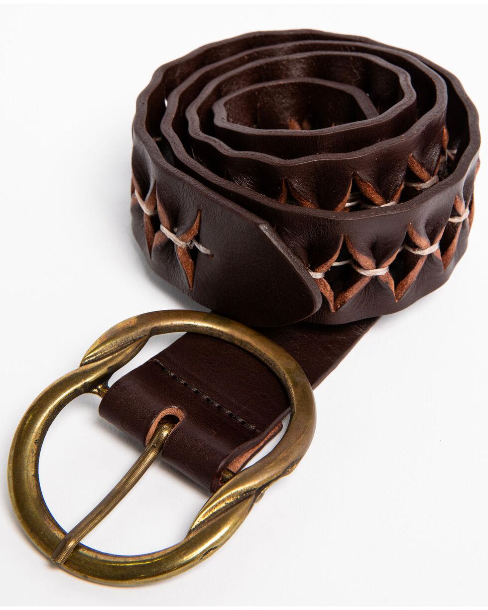 Idyllwind Women's Holes For Days Bronze Buckle Belt, Brown, hi-res