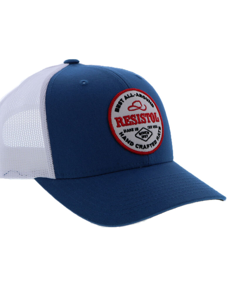 HOOey Men's Grey Resistol Mesh Trucker Cap , , hi-res