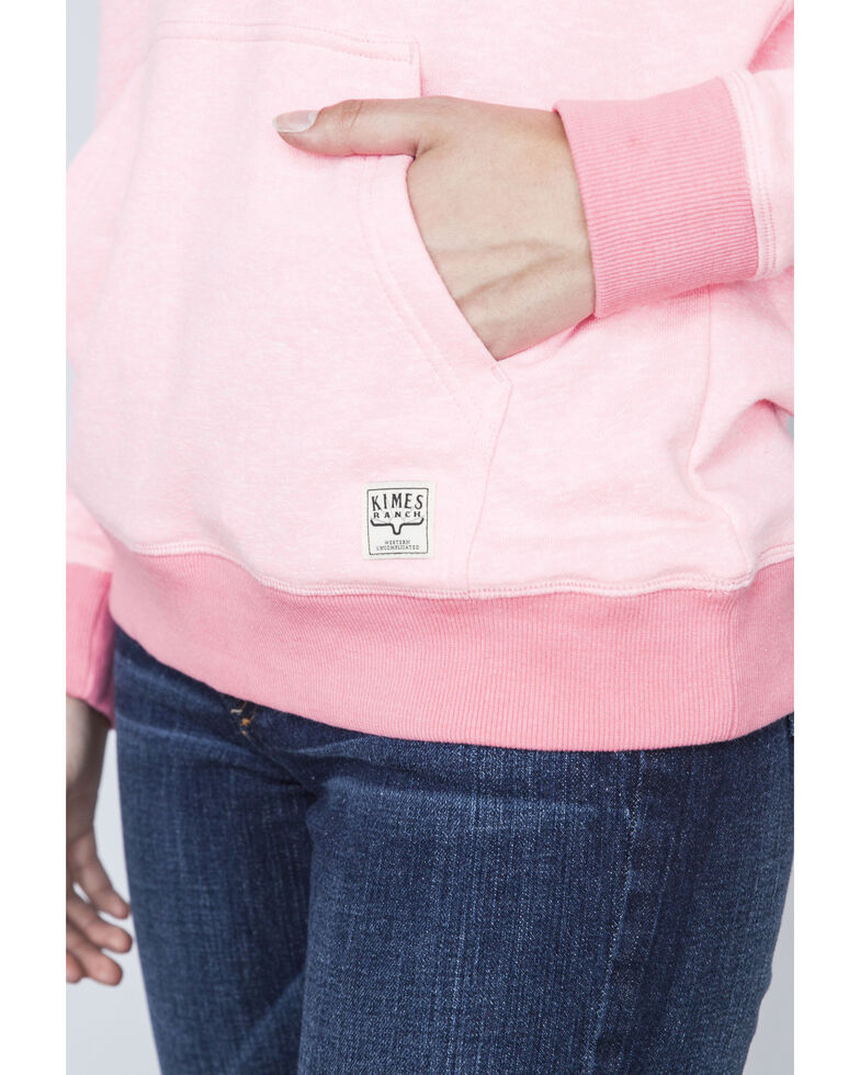 Kimes Ranch Women's Viceroy French Terry Hoodie Pullover, Pink, hi-res
