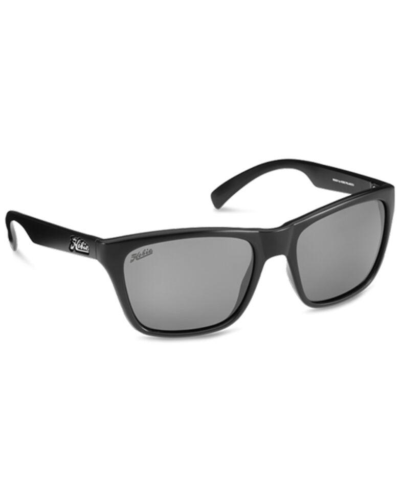 Hobie Woody Satin Black & Grey PC Polarized Sunglasses , Black, hi-res