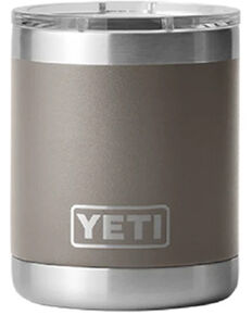 Yeti Rambler 10 Oz. Sharptail Taupe Lowball with Magslider Lid, Taupe, hi-res