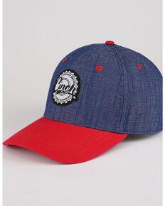 Cinch Men's Color Blocked Adjustable Ball Cap , Purple, hi-res