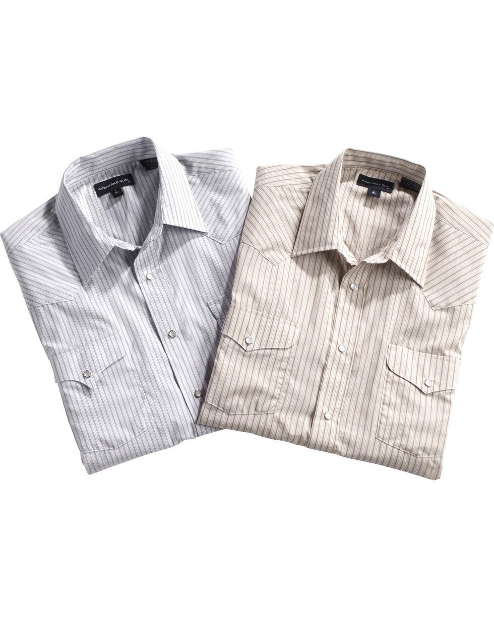 Panhandle Men's Assorted Striped Western Shirt , , hi-res