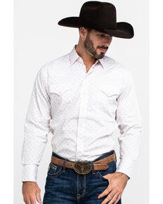 Ely Walker Men's Assorted Multi Geo Print Snap Long Sleeve Western Shirt , Multi, hi-res