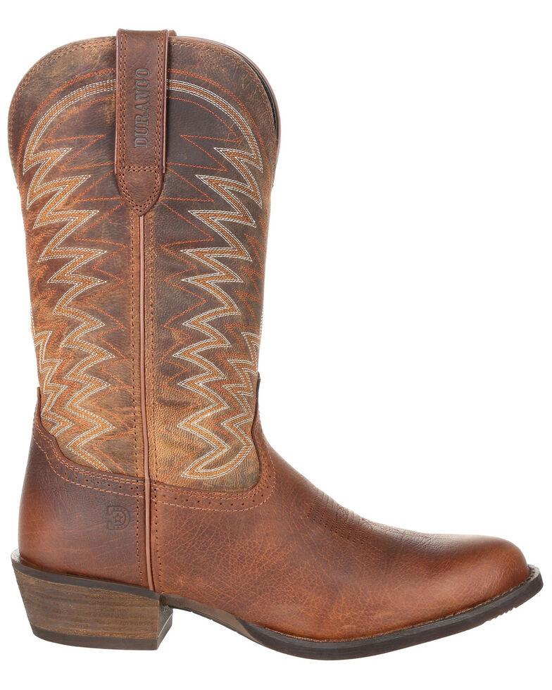 Durango Men's Rebel Frontier Western Boots - Round Toe, Brown, hi-res