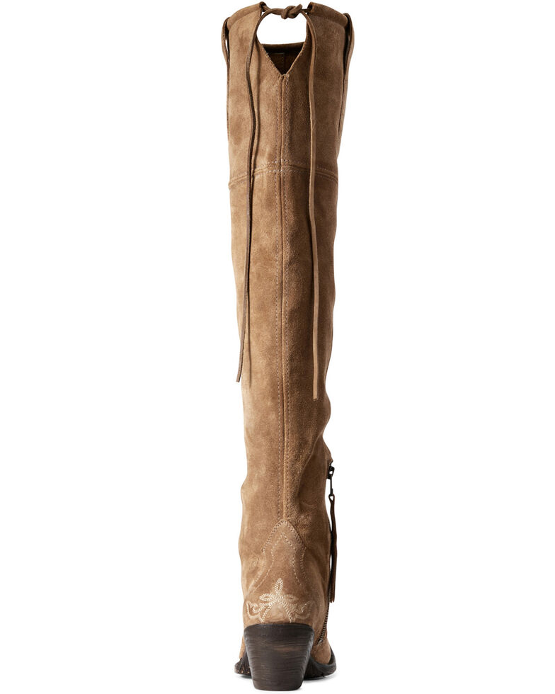 Ariat Women's Pandora Dijon Western Boots - Snip Toe, Brown, hi-res