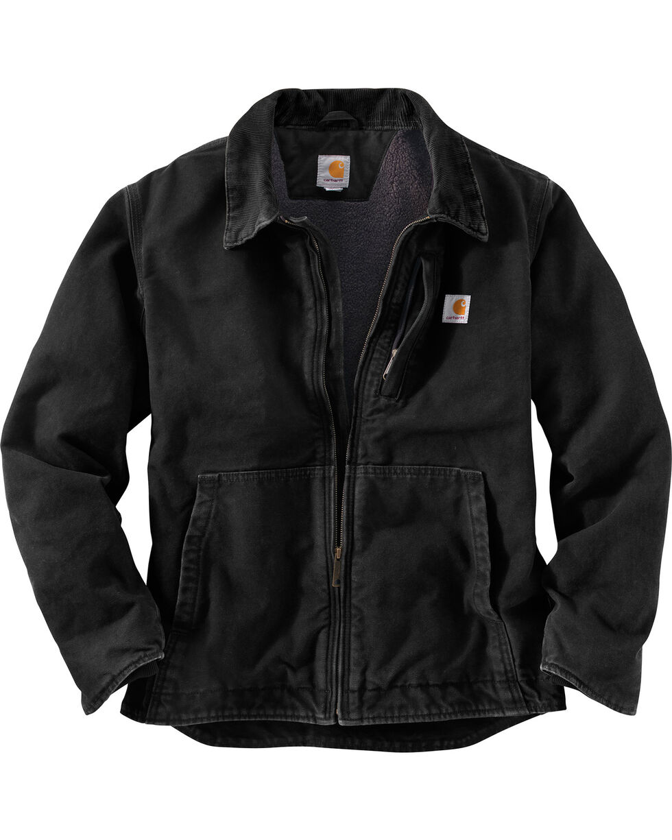 Carhartt Men's Full Swing Armstrong Jacket, Black, hi-res