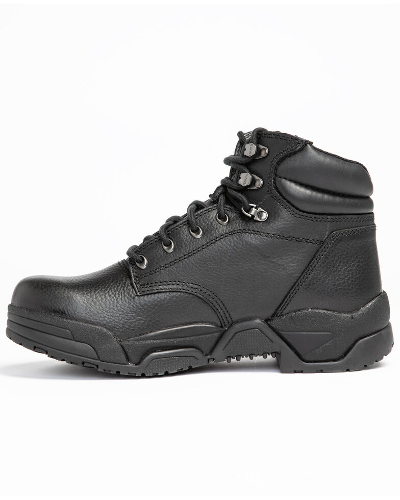 Hawx® Men's Enforcer Work Boots - Soft Toe, Black, hi-res