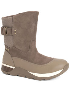 Muck Boots Women's Arctic Apres II Work Boots - Soft Toe, Taupe, hi-res