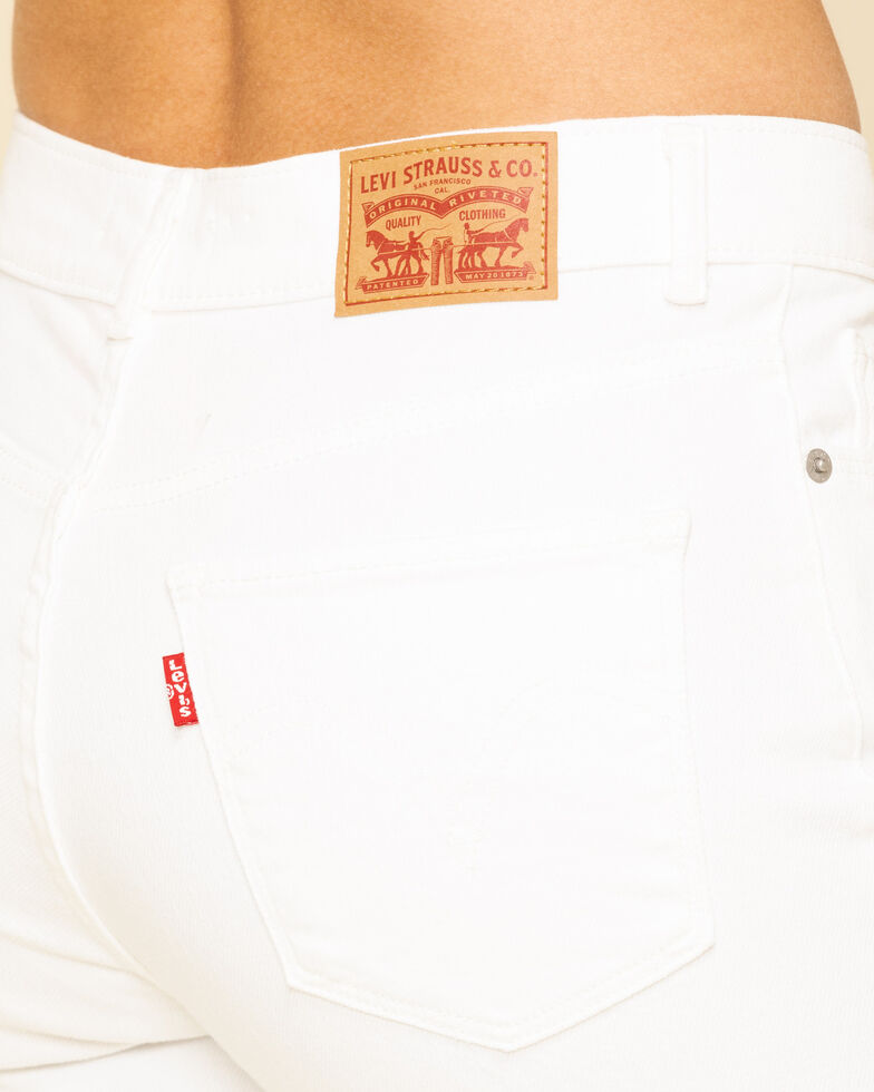 Levi's Women's Classic Straight Fit Jeans, White, hi-res