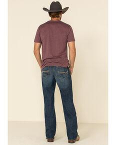 Cinch Men's Grant Performance Medium Relaxed Bootcut Jeans , Indigo, hi-res