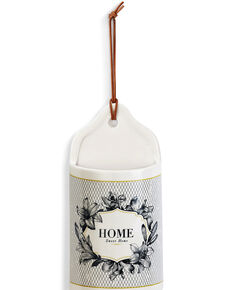 Demdaco Ceramic Home Sweet Home Crock, White, hi-res