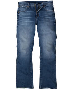 Wrangler Retro Men's Colorado Stretch Slim Bootcut Jeans , Blue, hi-res