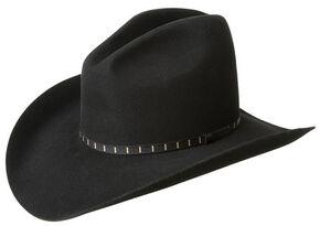 Bailey Men's Elbridge 3X Premium Wool Felt Cowboy Hat, Black, hi-res
