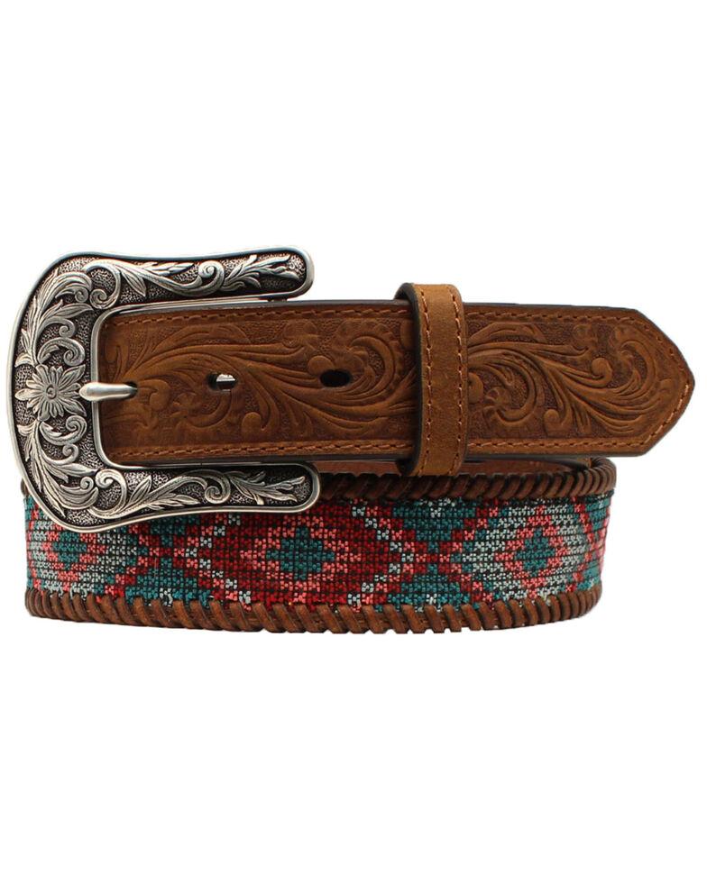 Ariat Women's Multi-Color Western Belt, Multi, hi-res