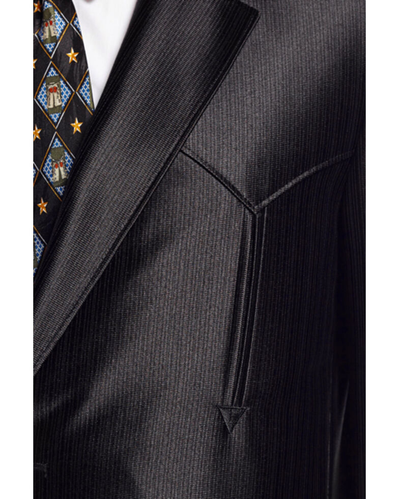 Circle S Men's Black Swedish Knit Tulsa Sport Coat, Black, hi-res