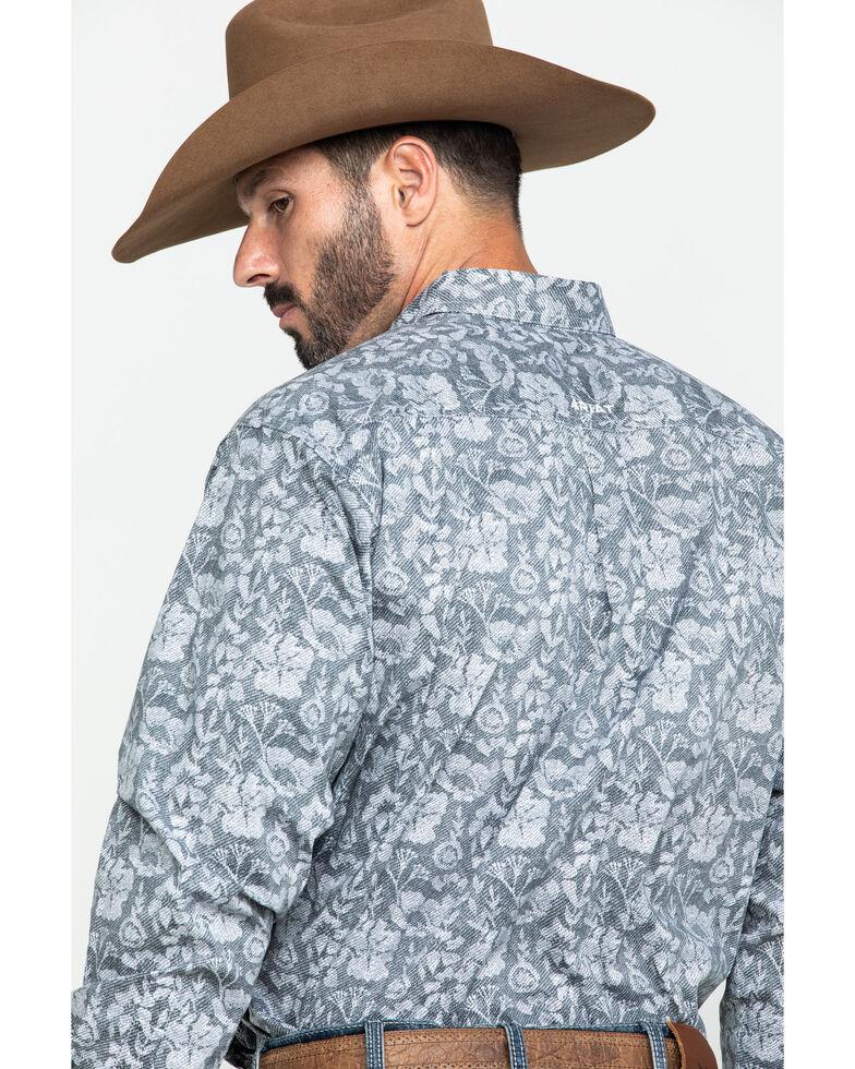 Ariat Men's Fayette Stretch Floral Print Long Sleeve Western Shirt - Big , Multi, hi-res