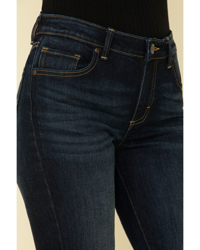 Lee Women's Nightshade Mid-Rise Bootcut Jeans, Blue, hi-res