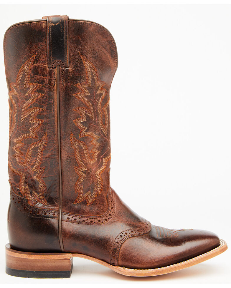 Cody James Men's Bryant Western Boots - Wide Square Toe, Brown, hi-res