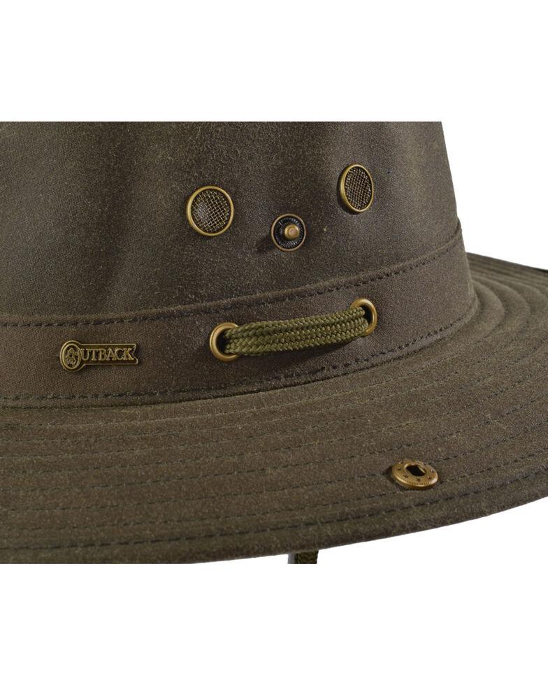 Outback Trading Co. Oilskin River Guide Hat, Sage, hi-res