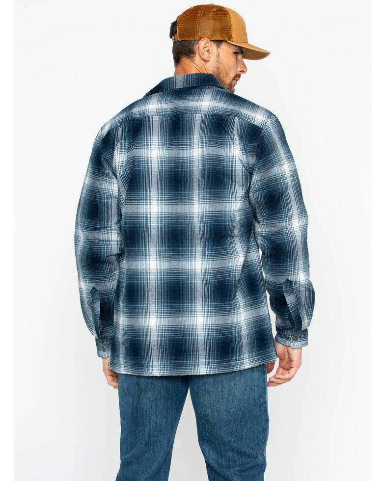 Carhartt Men's Hubbard Sherpa-Lined Shirt Jacket, Navy, hi-res