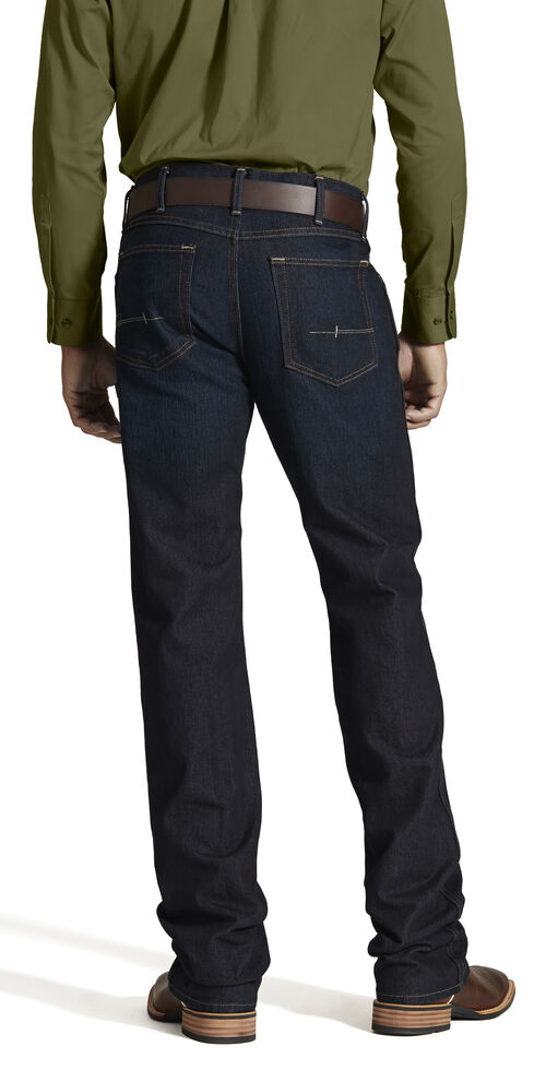 Ariat Men's M5 Rebar Low Rise Straight Leg Jeans, Denim, hi-res