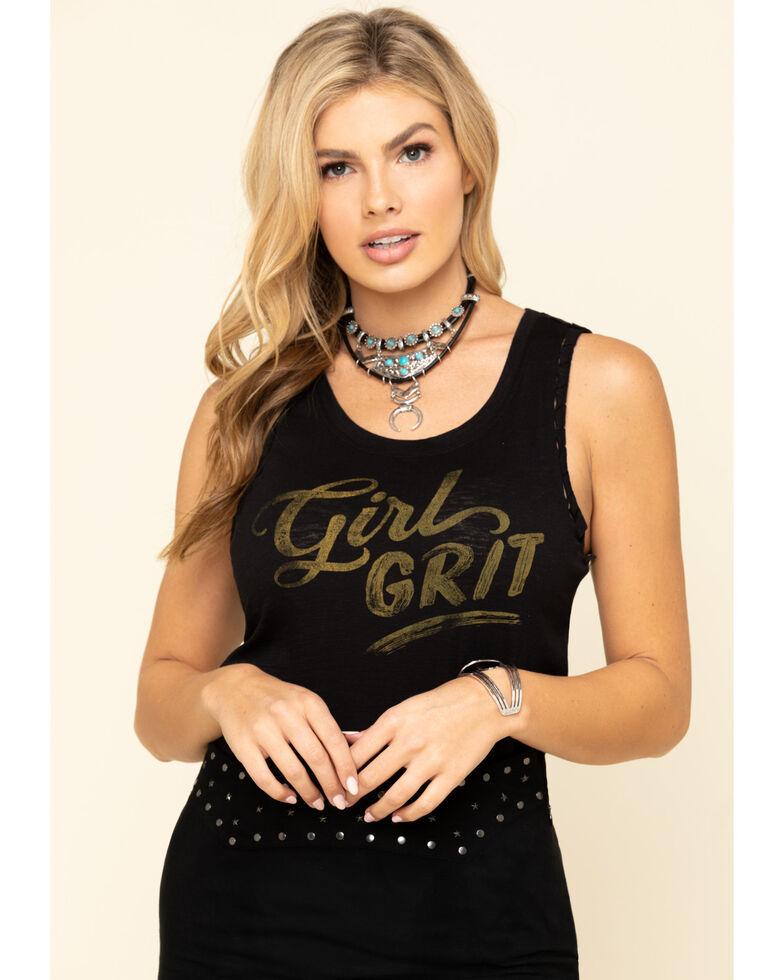 Idyllwind Women's Girl Grit Trustie Tank Top, Black, hi-res