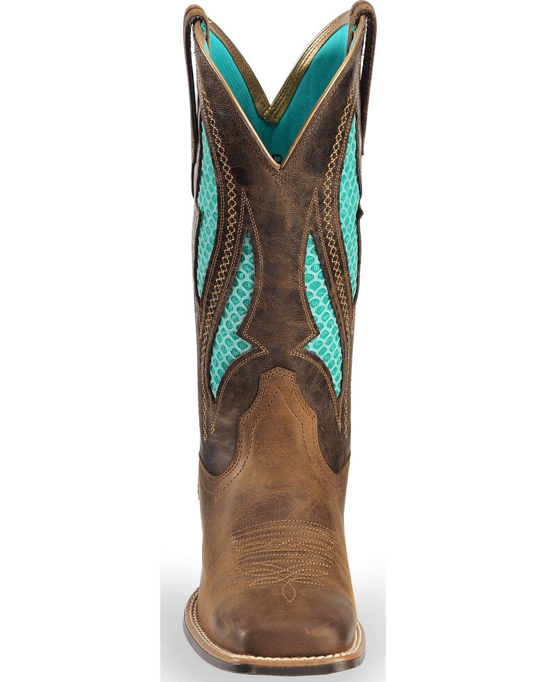168efbea3e3 Ariat Women's VentTEK Ultra Quickdraw Cowgirl Boots - Square Toe