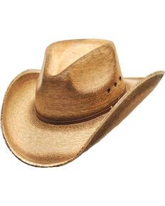 Western Express Men s Fritz Palm Leaf Cowboy Hat 6d888dd26522