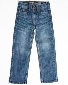 Cody James Boys' River Rock Light Stretch Slim Straight Jeans - Little , Blue, hi-res